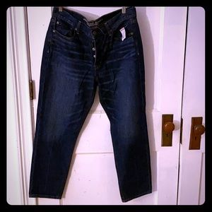 AE button fly jeans